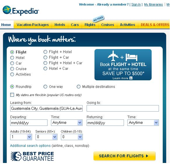 Compare flights, find nearby airports, and sift through the low cost airlines. Let Expedia be your own Google flights search resource. Expedia can suggest the best USA flight destinations, top discount airlines, and the most popular flight routes to and from the United States.